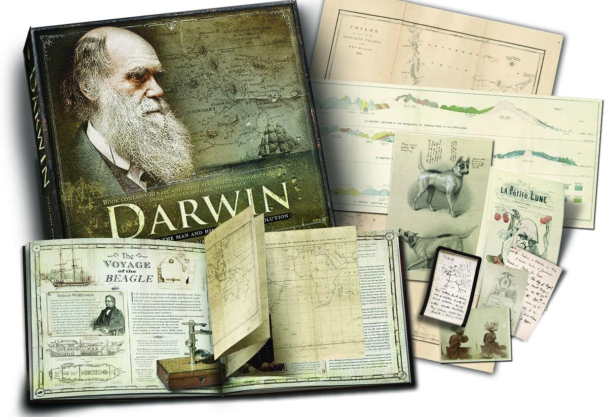 Charles Darwin, originea speciilor - Descoperă