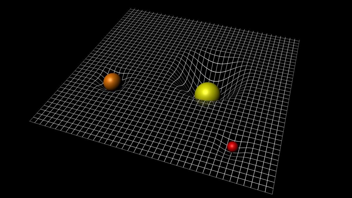 Gravitația și curbarea spațiu-timpului